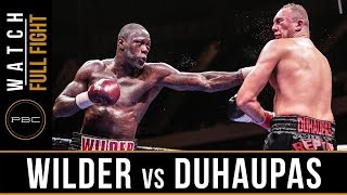 Video Wilder vs Duhaupas FULL FIGHT: Sept. 26, 2015 - PBC on NBC MP3, 3GP, MP4, WEBM, AVI, FLV Mei 2019