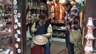 Mercado de artesanías de Sarajevo