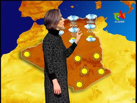 Retrouvez la ❄météo du lundi 21 janvier 2019 sur Canal Algérie