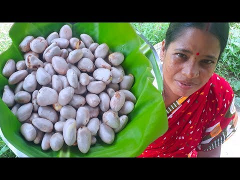 Jackfruit Seed Masala Curry Recipe-Bengali Village Style Tasty Curry Recipe || Delicious Food