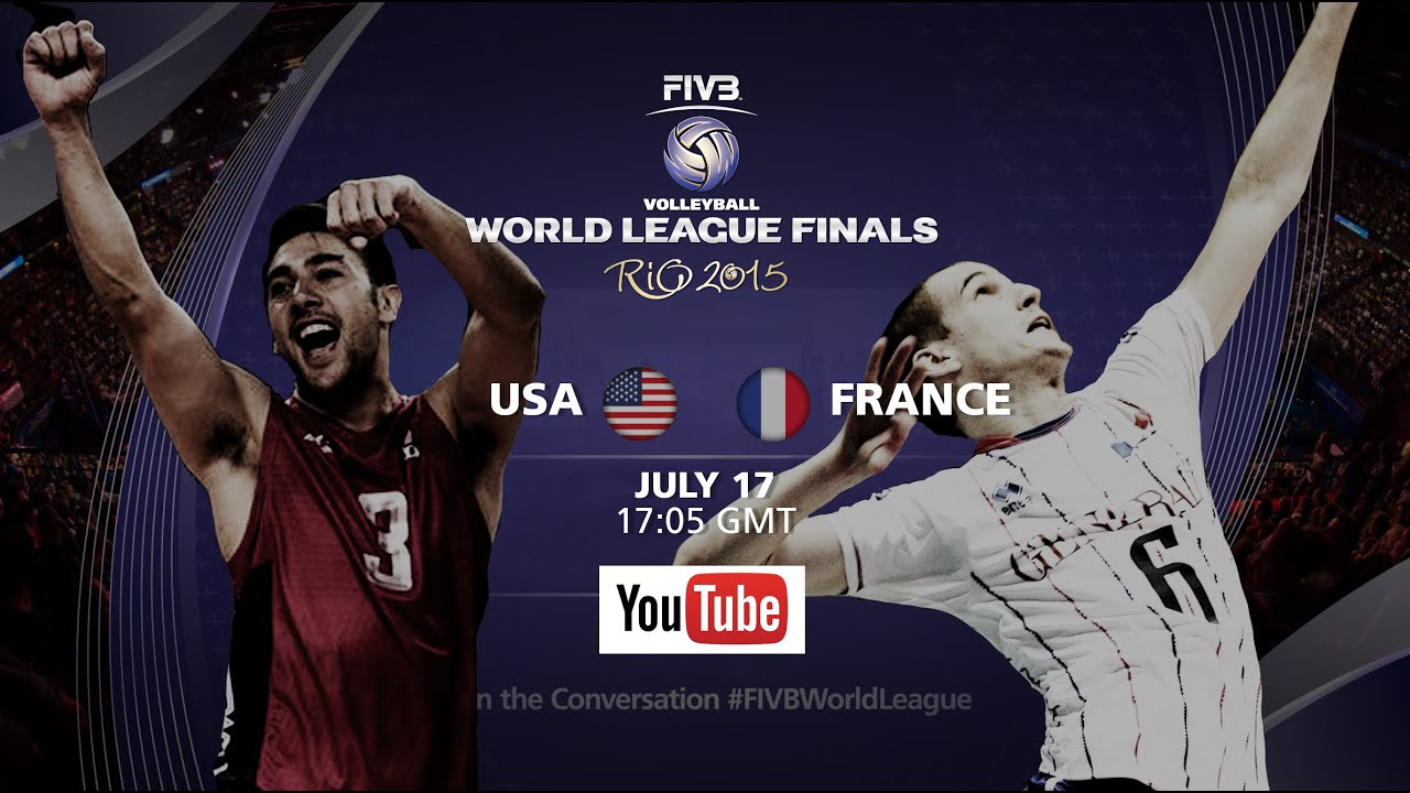 Live: USA vs France – FIVB Volleyball World League Final 2015