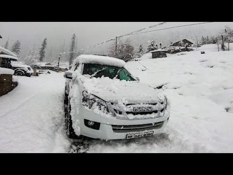 Heavy Snowfall in Solang | Manali | Kothi | Snowfall ride 2021