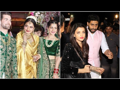 Neil's Lavish Wedding Reception | Abhishek Wants W
