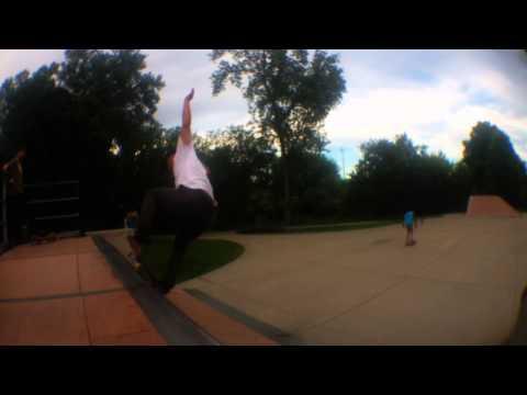 skating the urbandale iowa skatepark