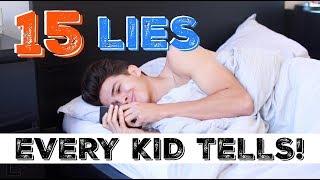 Video 15 LIES EVERY KID TELLS!   Brent Rivera MP3, 3GP, MP4, WEBM, AVI, FLV Agustus 2018