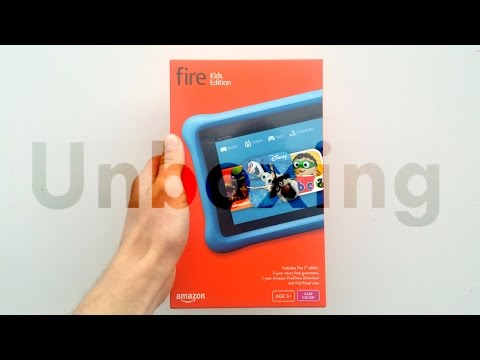 Amazon Fire Tablet Kids Edition: Unboxing & Setup