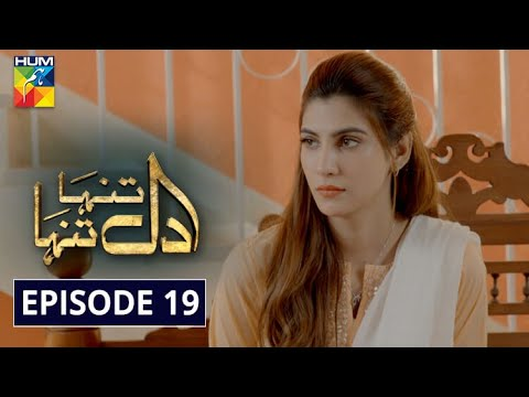 Dil Tanha Tanha Episode 19 HUM TV Drama 20 January 2021