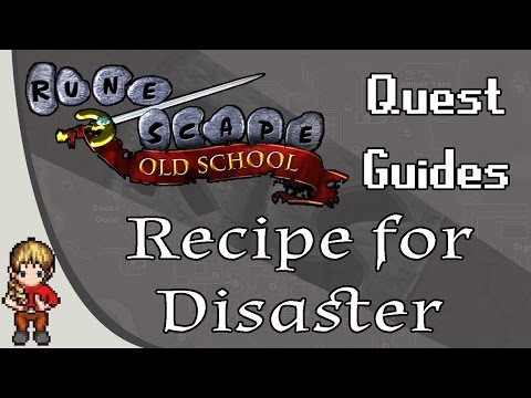 [OSRS] Recipe For Disaster Quest Guide