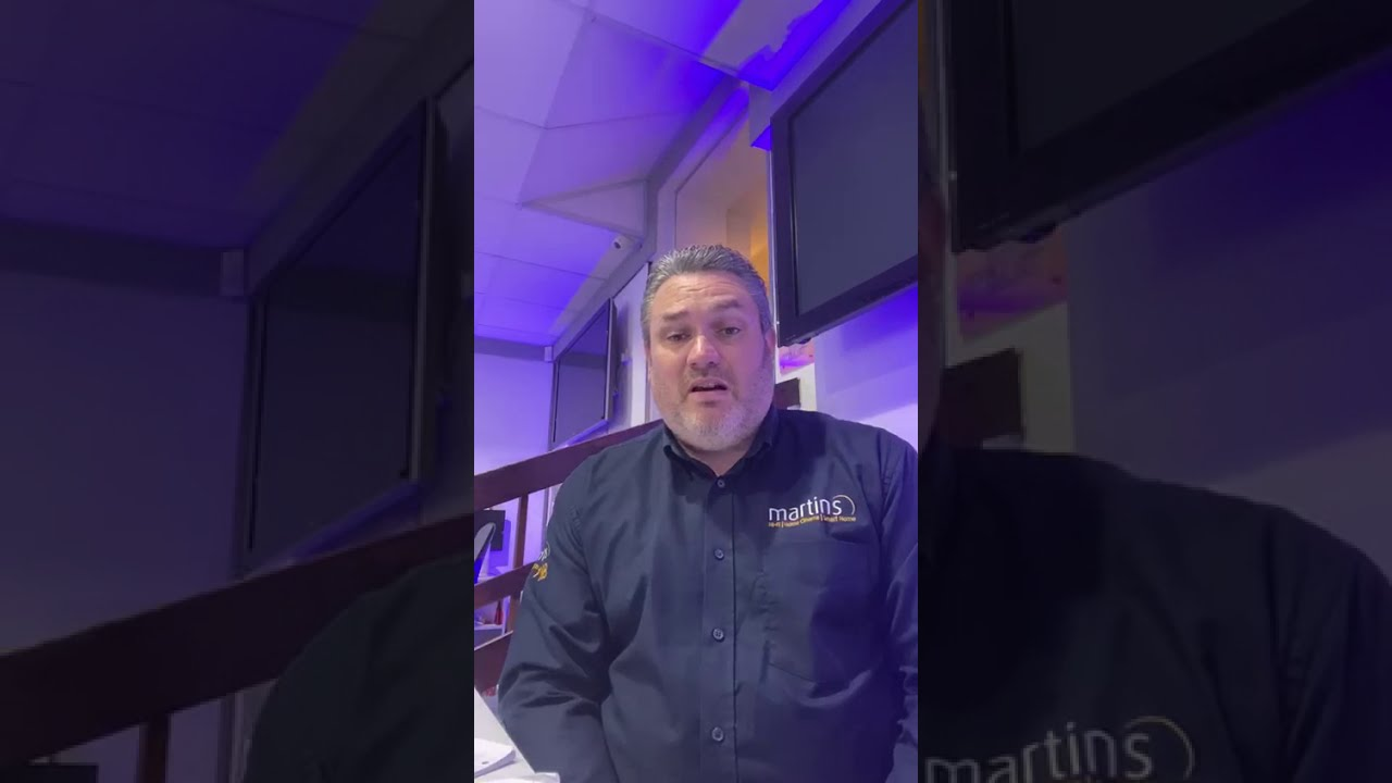 Preview image - Steve welcomes you back to Martins, with product and events news