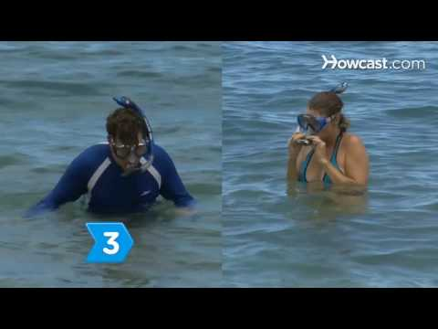 snorkel - See what you can learn on the go with the new Howcast App for iPhone and iPad: http://bit.ly/11ZmFOu Watch more How to Have Fun at the Beach videos: http://w...