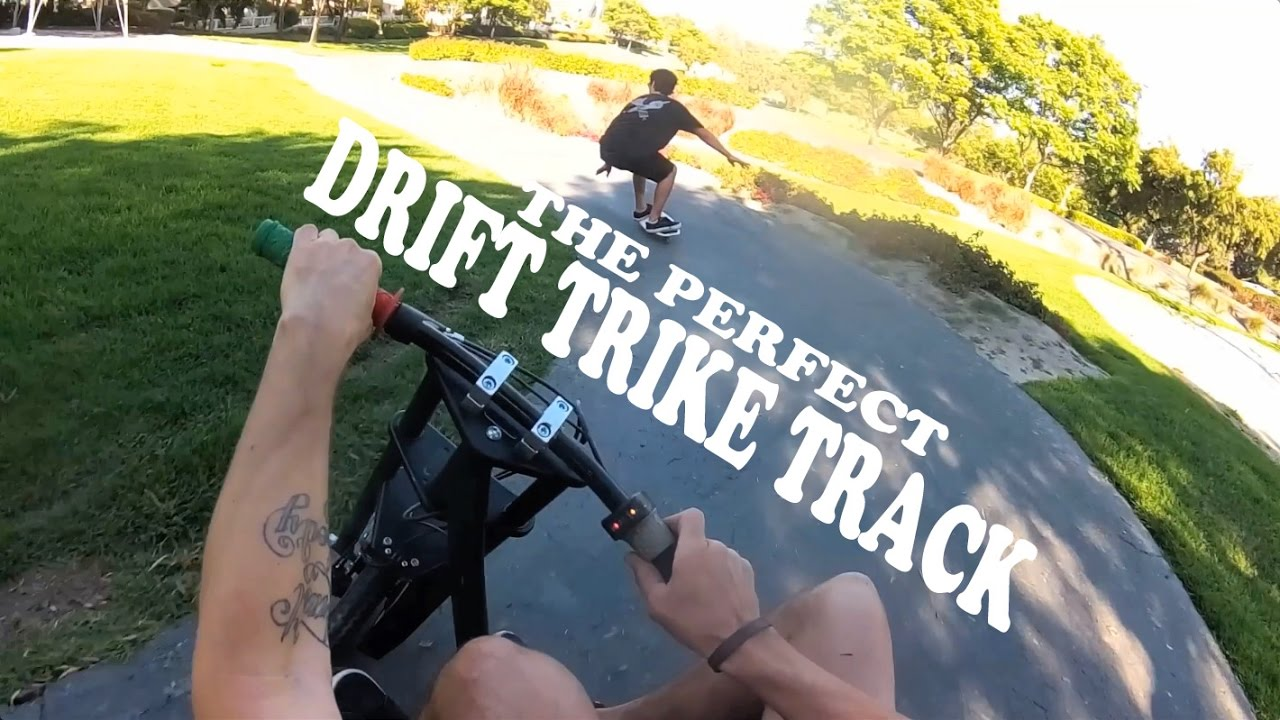 WE FOUND THE PERFECT DRIFT TRIKE TRACK
