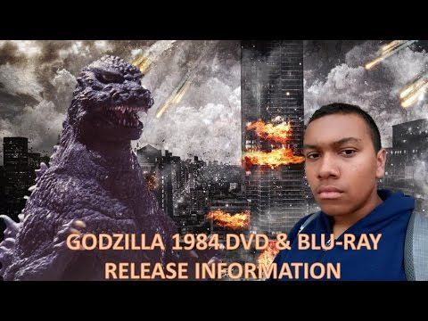Godzilla 1984 DVD & Blu-Ray Information