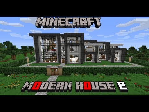 Modern house 2 minecraft project for Minecraft modern house download 1 8