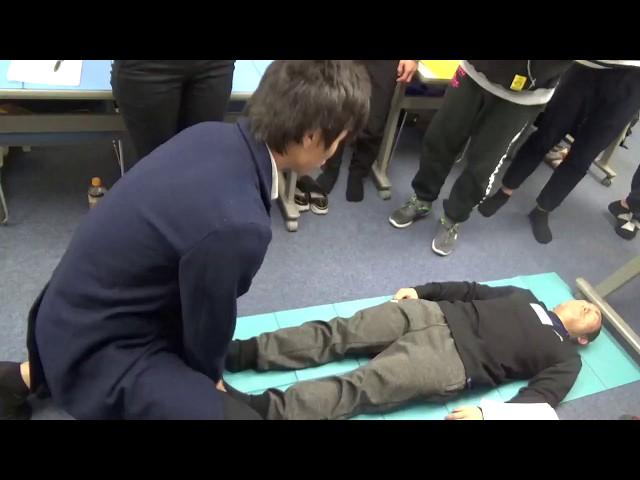 全身の筋膜・内臓調整 足揺らし テクニック 理学療法士