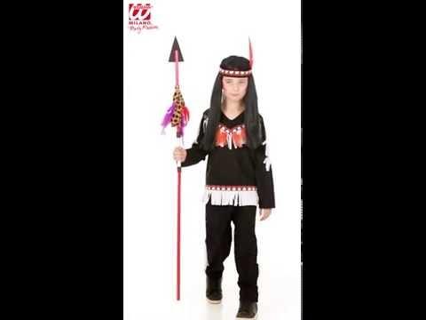 Deguisement Indien Enfant-v49302