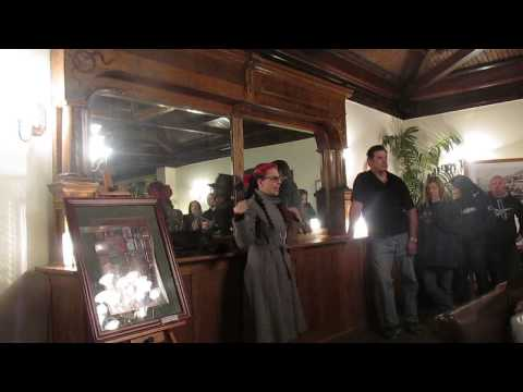 The Old Bisbee Ghost Tour With Renee Gardner The Copper Queen