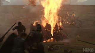 The Game of Thrones cast and crew give an inside look on filming the loot train attack in season 7. Game of Thrones airs on HBO ...