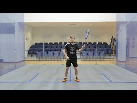 Squash tips: Peter Nicol's forehand technique top tips