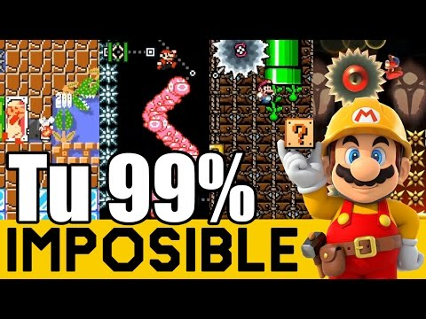 Mis Manos Casi Explotan !! - 99% Imposibles de Suscriptores #11   Super Mario Maker - ZetaSSJ (видео)