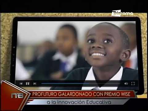 Profuturo galardonado con premio Wise a la innovación educativa