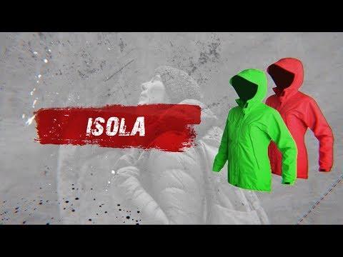 Відео демонстрація жіночої мембранної куртки Isola