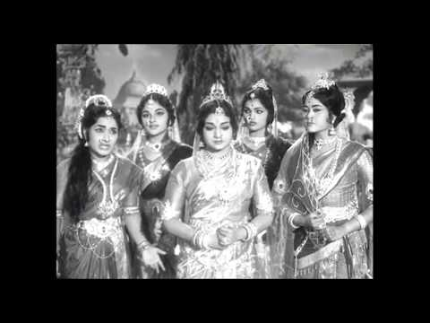 Sri Krishna Tulabharam Full Length Movie Parts:06/10 |NTR,Anjali,Jamuna