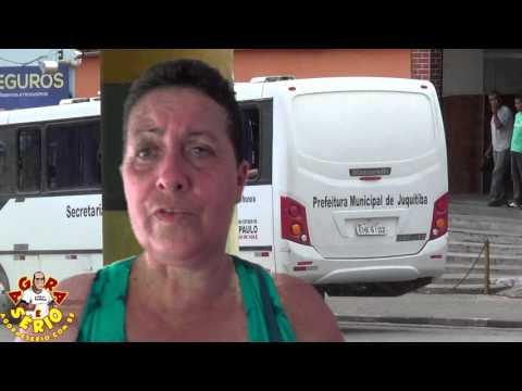 Joaninha quer o Micro - ônibus da Promoção Social de Juquitiba para fazer excursão para Aparecida do Norte