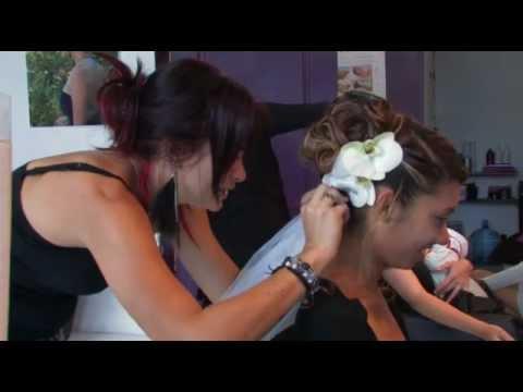 Démo vidéo coiffure mariage RUN974