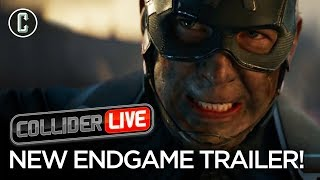 Video Avengers Endgame Trailer Drops Unexpectedly: Our Review - Collider Live #92 MP3, 3GP, MP4, WEBM, AVI, FLV Mei 2019