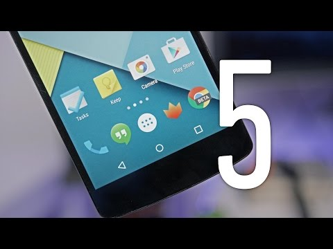 video review - Android 5.0 Lollipop has landed, and stock has a ton of new features! Top 5 Android 5.0 Features: http://youtu.be/y9ue7TNpxS0 Lollipop Wallpapers: https://play.google.com/store/apps/details?id=co...