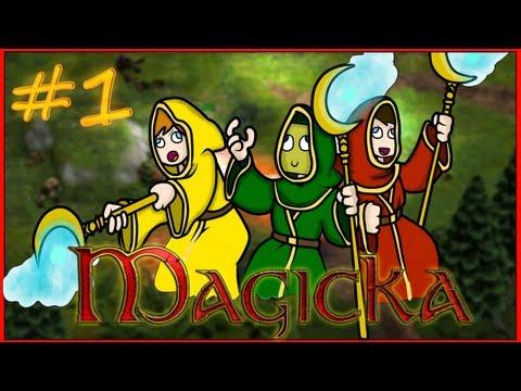 Magicka: Упоротая магия #1 - [БАНАН НЕ ВАМПИР :D]