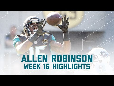 Allen Robinson's 9 Catches for 147 Yards! | Titans vs. Jaguars | NFL Week 16 Player Highlights