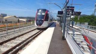 new Express tram north of Paris