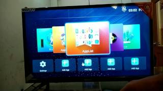 Video India's top selling tv Nacson 32 inch Smart LEd TV in Samsung panel with android os with eshare MP3, 3GP, MP4, WEBM, AVI, FLV September 2018