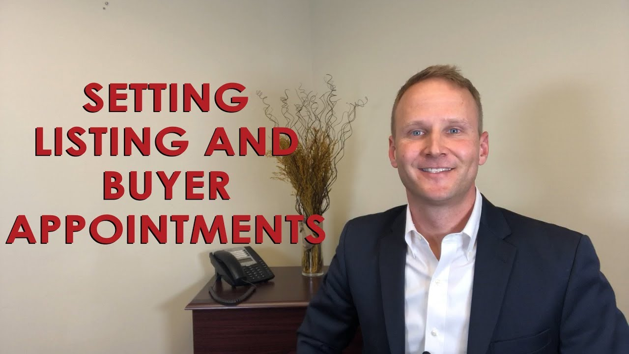 How to Set 3 New Listing and Buyer Appointments Every Single Day