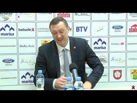 """""""Betsafe–LKL"""" rungtynių komentarai: """"Dzūkija"""" - """"Juventus"""" [2018-11-25]"""