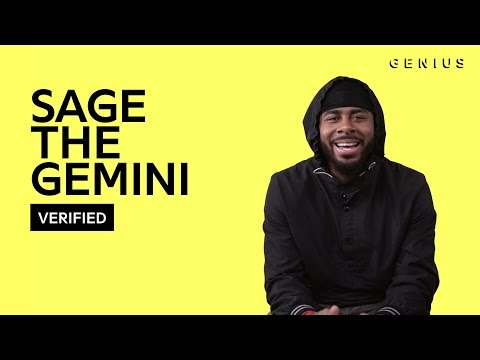 """Sage The Gemini """"Now and Later"""" Official Lyrics & Meaning   Verified"""