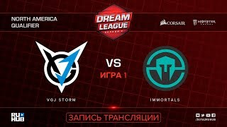 VGJ Storm vs Immortals, DreamLeague NA Qualifier, game 1 [Lum1Sit, Mila]