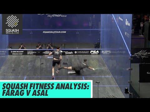 Squash Fitness Analysis: Ali Farag v Mostafa Asal