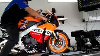 8. 2009 Honda Repsol Dyno