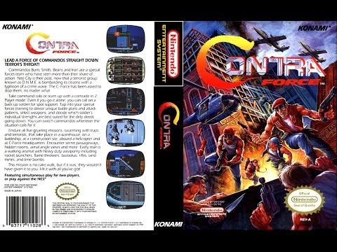 Contra Force NES aka Contra 6 NES - NO DEATH (Ultra HD 4k)