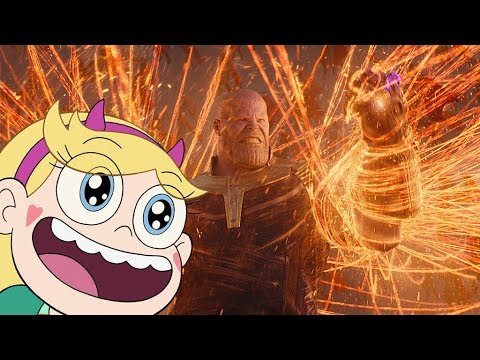 Marvel \ SvtFoE | Star Reacts To The Avengers: Infinity War Blu-Ray Trailer