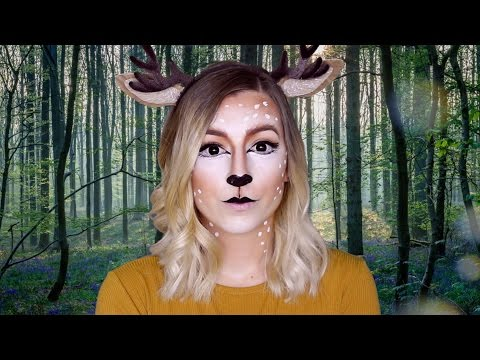 FILTRE SNAPCHAT CERF / Maquillage Halloween facile ! (Deer snapchat filter makeup)