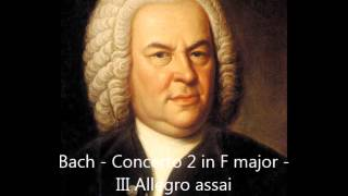 Bach - Orchestral Works And Chamber Music -  Brandenburg Concertos 1