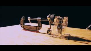 """連携力で""""ピタゴラ装置""""−東大阪市、市内44社の製品で作成(動画あり)"""
