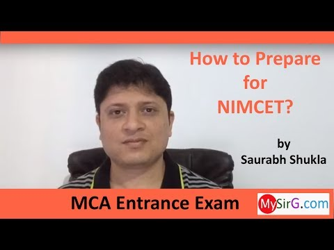 How to prepare for NIMCET