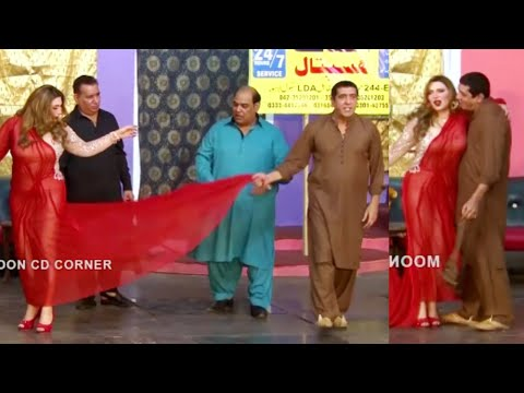 Nasir Chinyoti and Khushboo With Zafri Khan Stage Drama Thug Badmash Comedy Clip 2020