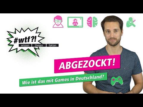 Wie ist das mit Games in Deutschland?