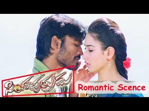 Video Dhanush Tamanna Romantic Scene - Simha Putrudu Movie download in MP3, 3GP, MP4, WEBM, AVI, FLV January 2017