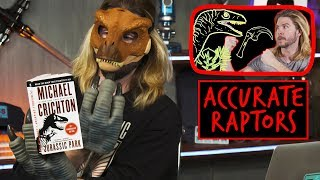 Video Jurassic Park's Technically Correct Velociraptors | Because Science Footnotes MP3, 3GP, MP4, WEBM, AVI, FLV Januari 2019